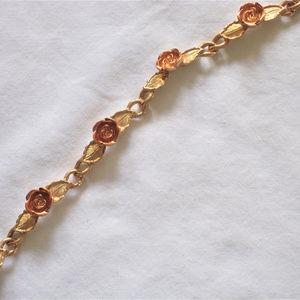 Romantic Burnished Rose Collection Bracelet